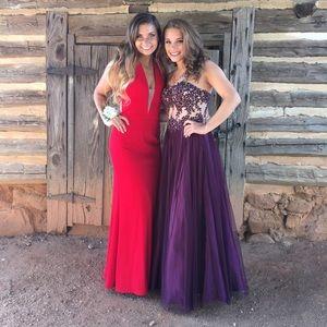 Sherri Hill Dresses - Red Sherri Hill Prom Dress
